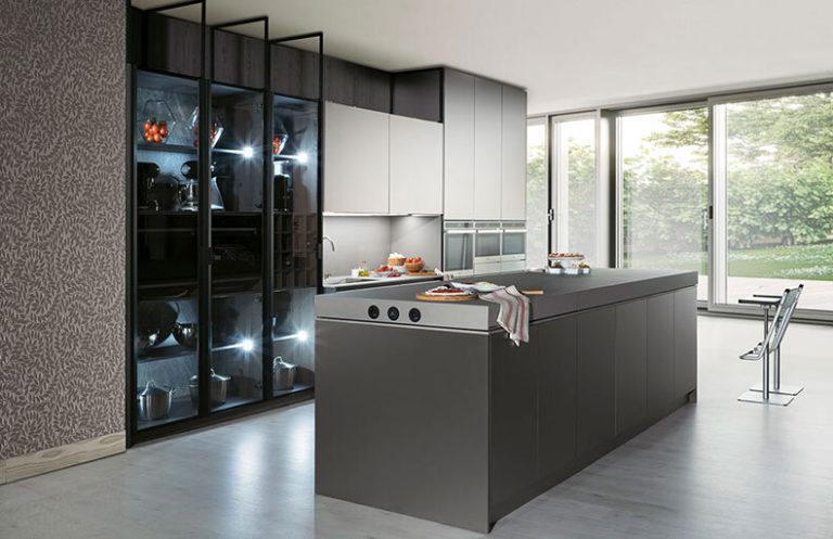 Cocina moderna gris Alicante