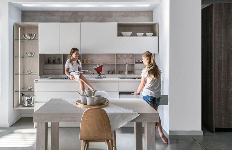 Muebles de cocina madera y metal