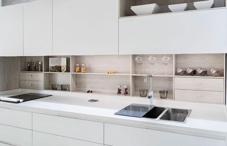Cocina de diseño madera y metal